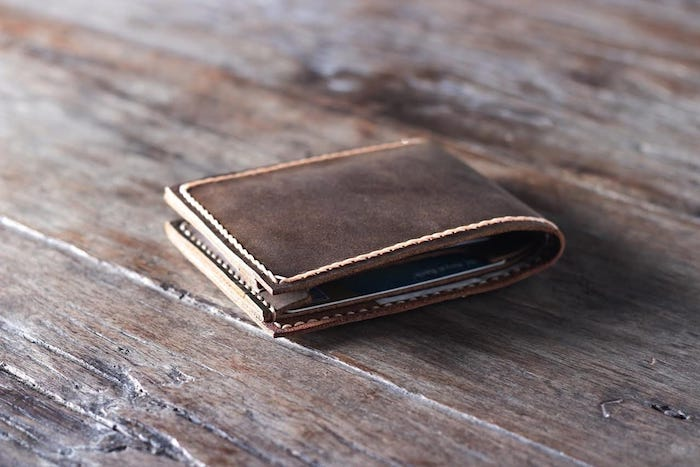 Handmade Leather Wallet 1