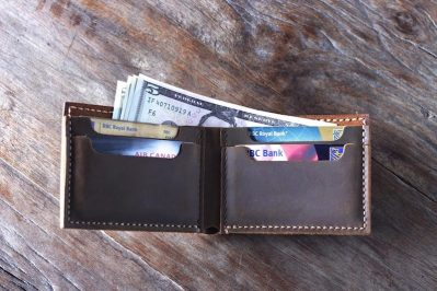 Handmade Leather Wallet 2