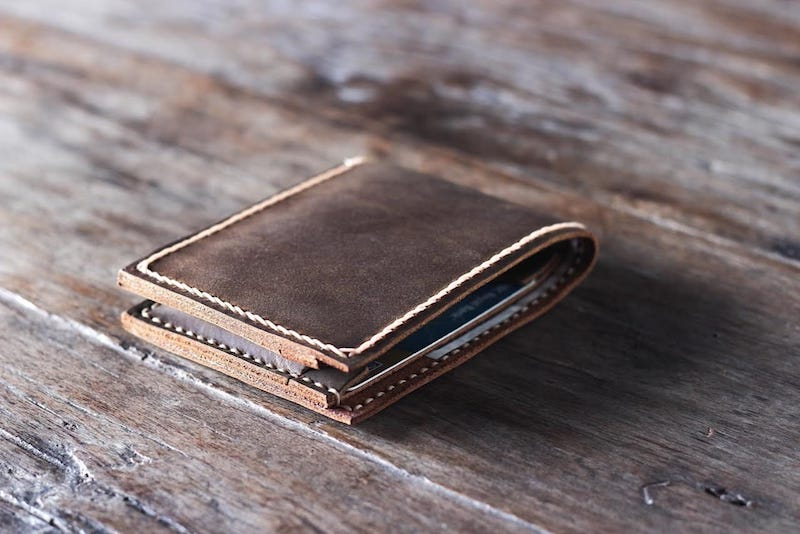 Handmade Leather Wallet 3