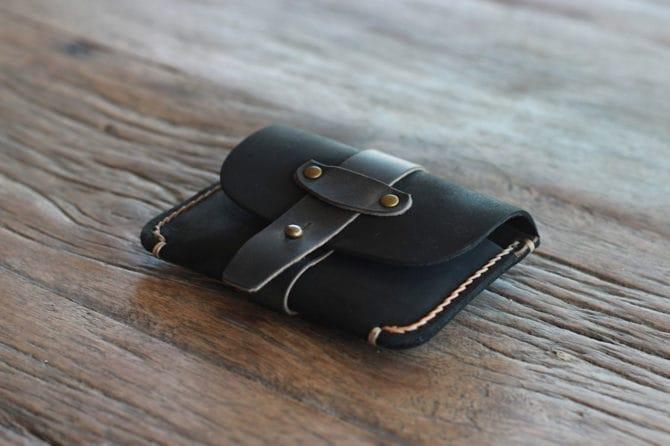 dark treasure chest wallet