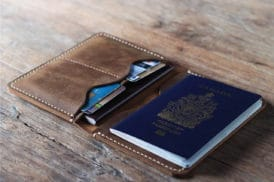 Leather Travel Wallet 021-3