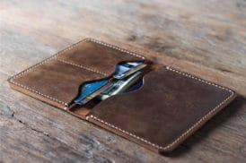 Leather Travel Wallet 021-4