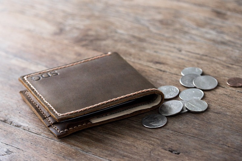 Leather Coin Pocket Wallet 2