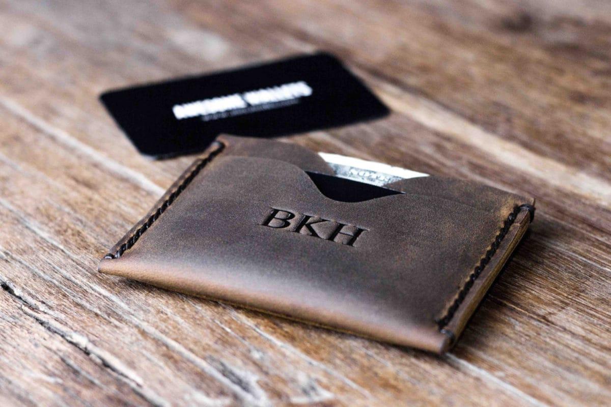 Minimalist Leather Front Pocket Wallet