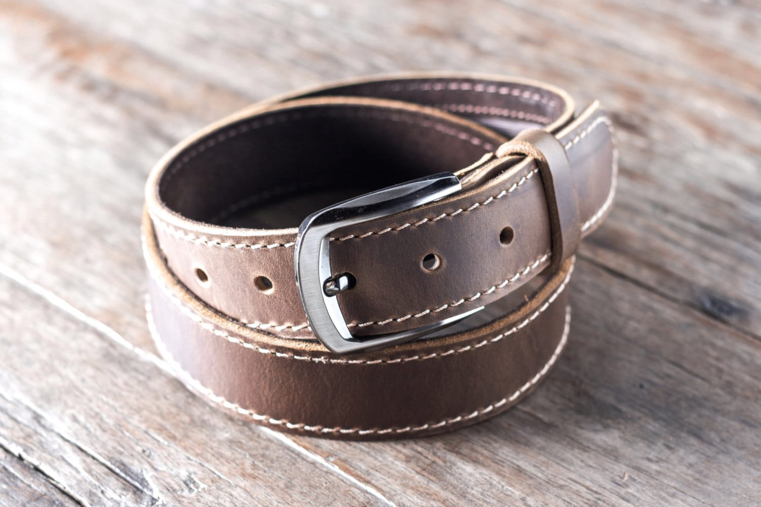 Hair-on leather belt with silver conchos for the rodeo. A stretchy cloth outdoors belt for a trek through the woods. Belts are made in a wide variety of styles for a wide variety of occasions, and with Hatcountry's men's belts, you can have a belt for each one.