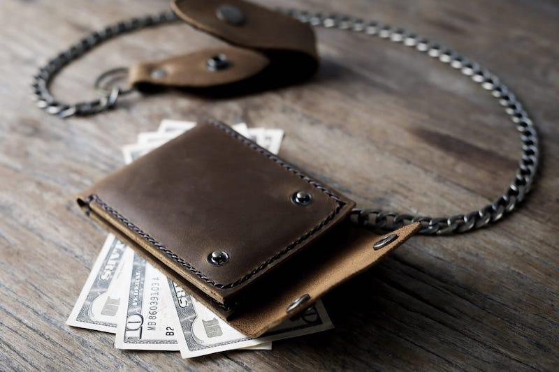 Biker Chain Wallet 4
