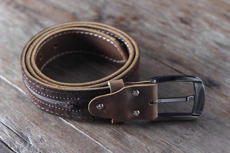 Mens Brown Leather Belt [Handmade] [Personalized] [Free Shipping] 5