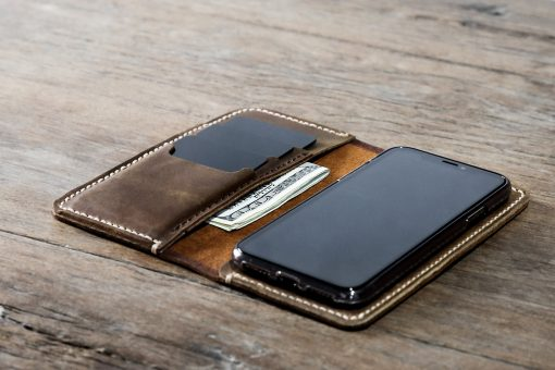 iPhone Xs Leather Wallet