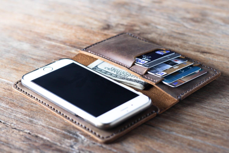 iPhone 6 Leather Wallet Case - JooJoobs