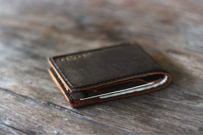 ad866c01fff6 Leather Bifold Wallet [Personalized] [Handmade] [Free Shipping]