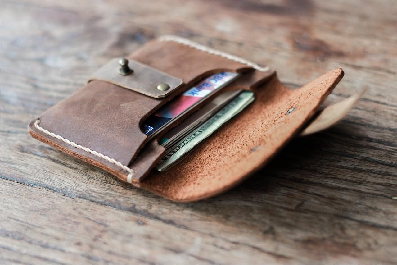 9afc8f27e4977c Treasure Chest Credit Card Wallet [Handmade] [Free Shipping]