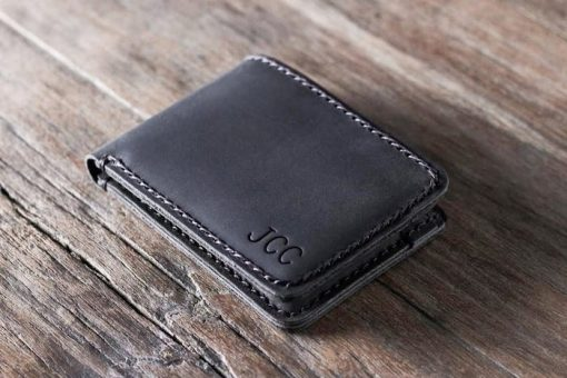 Leather Wallet Rounded Edges