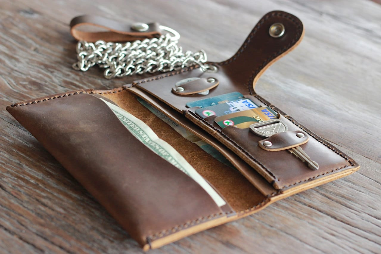 Iphone S Leather Wallet