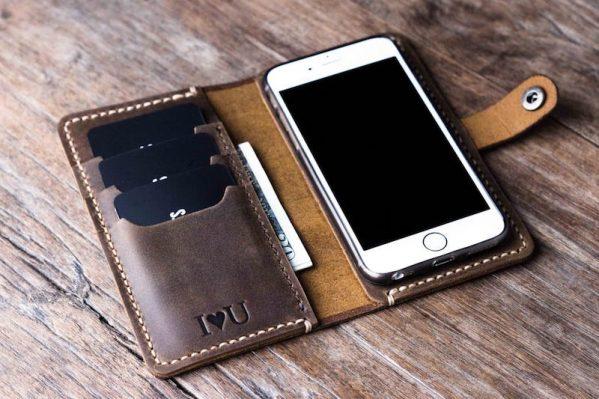 iPhone Wallet Case w/ Closure