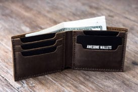 Big Texas Leather Wallet Personalized
