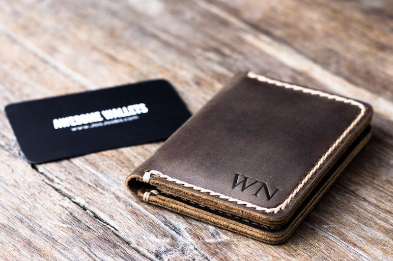 Mens Credit Card Wallet [Handmade] [Personalized] [Free Shipping] 5