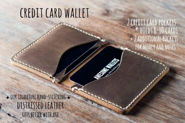 Mens Credit Card Wallet