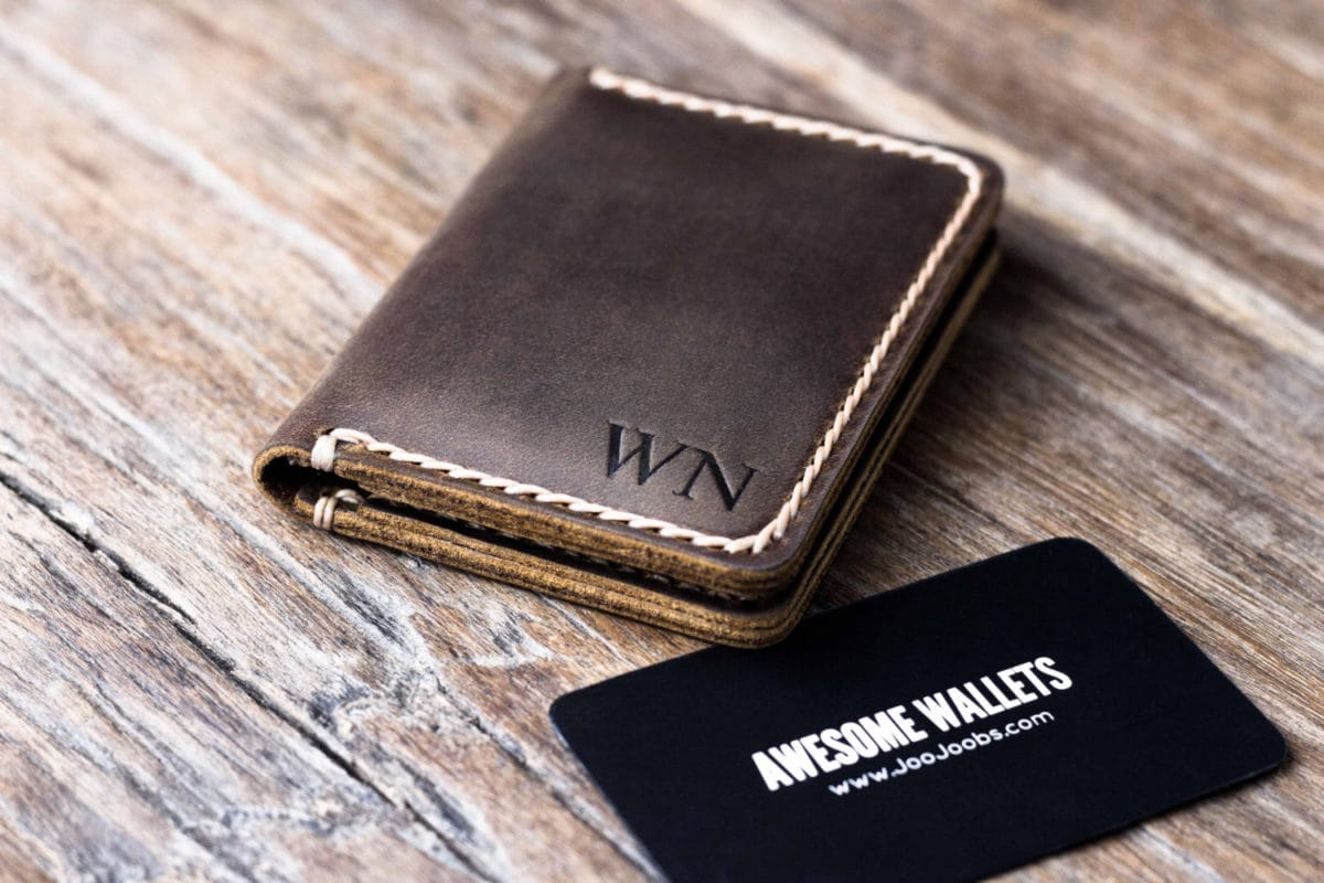 Credit Card Wallet for Men Personalized
