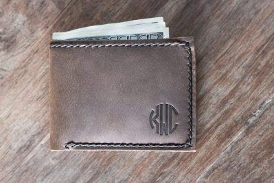 Slim Mens Wallet Bifold