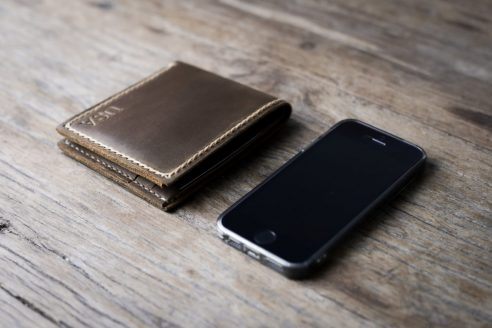 Big texas leather wallet