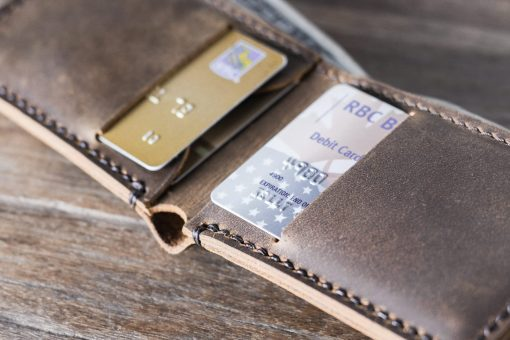 minimalist slim wallet personalized