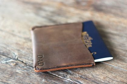 passport holder travel wallet personalized