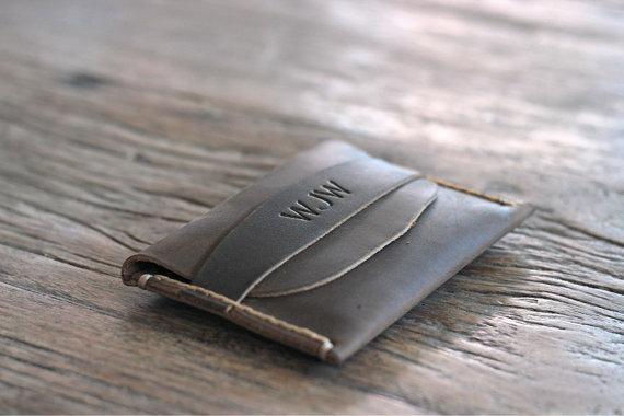 Leather Front Pocket Wallet 1