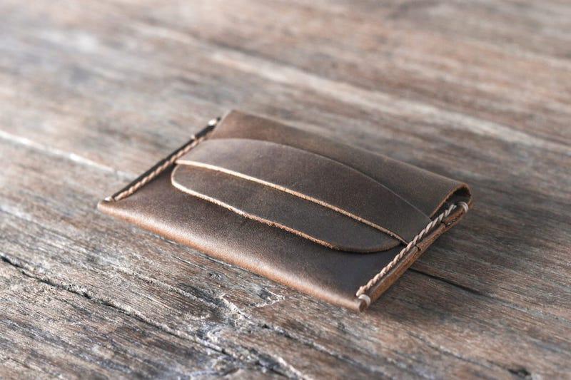 Leather Front Pocket Wallet 2