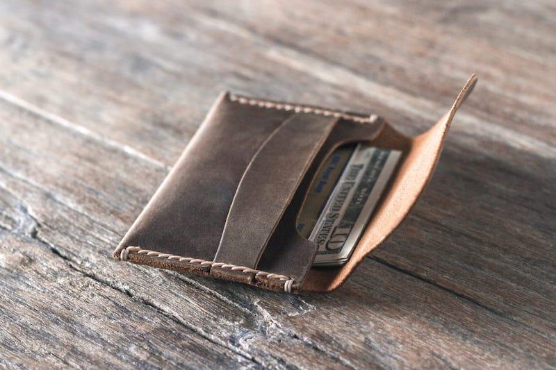 Leather Front Pocket Wallet 5