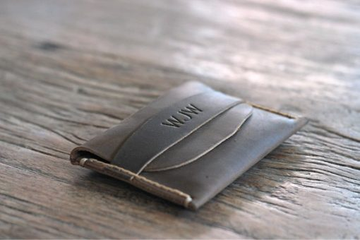 Personalized Leather-Front-Pocket-Wallet