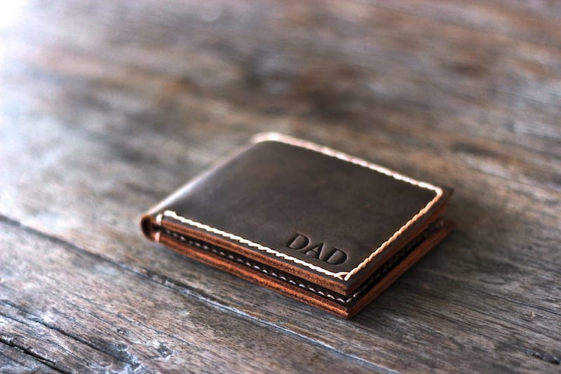 Personalized Mens Bifold Wallet – Customize With Your Name or Initials 4