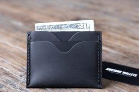 front pocket wallet dark 061-3