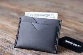 front pocket wallet dark 061-4