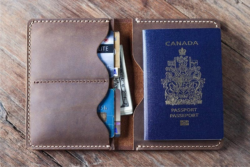 Leather Travel Wallet 3