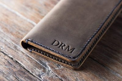 Leather iPhone Wallet 1