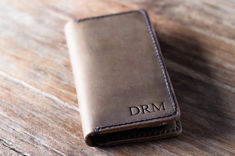 Leather iPhone Wallet 2