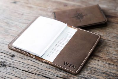 Personalized Leather Passport Cover 2