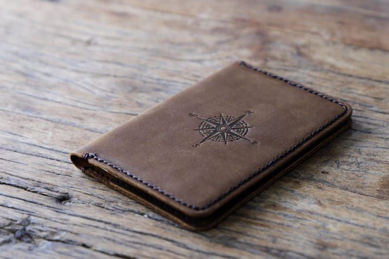 Personalized Leather Passport Cover 4