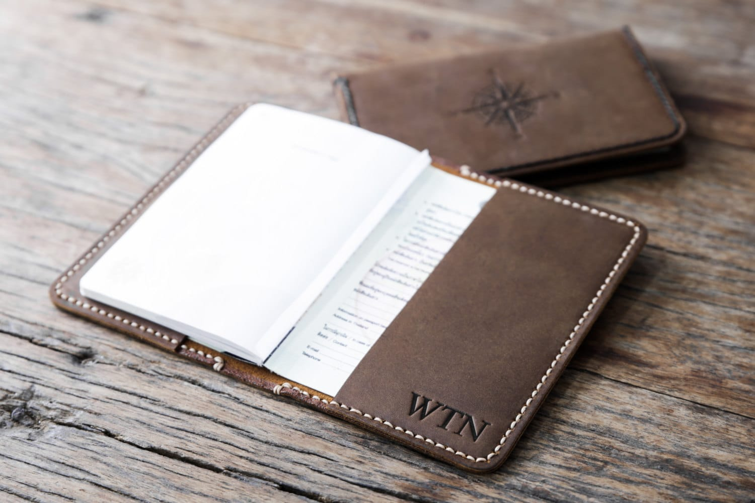 Personalized Leather Passport Cover5