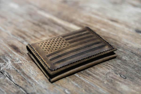 American Flag Wallet 1