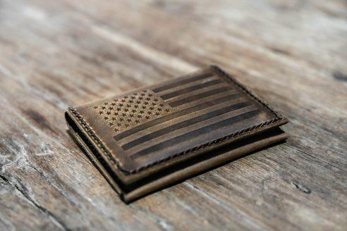 american flag wallet by joojoobs