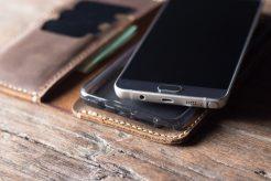 Leather Samsung 8 Wallet Case