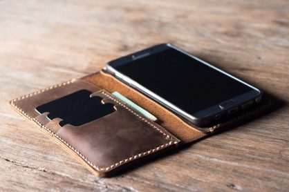 Leather Samsung Wallet Case