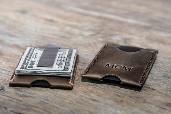 Minimalist Money Clip Wallet 3