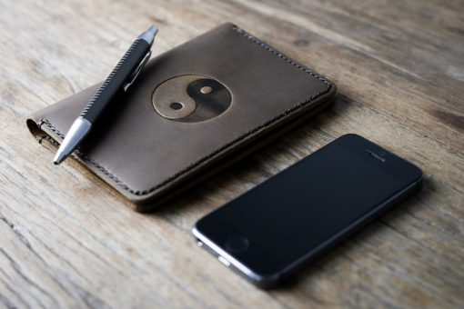 Personalized Leather Travel Diary