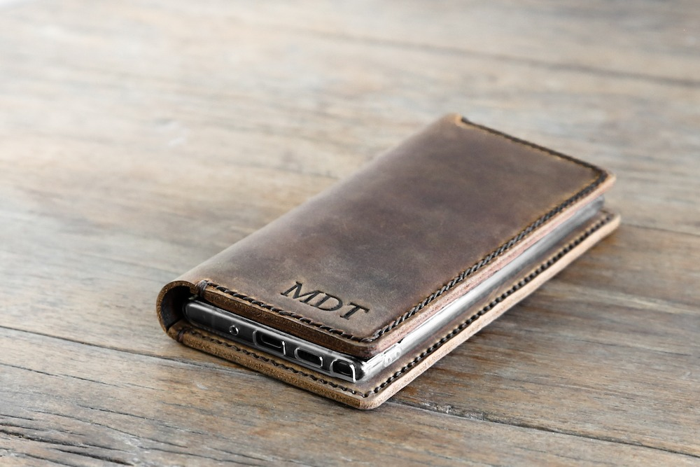 samsung note 10 plus leather case