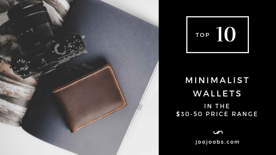 Top 10 Minimalist Wallets in the $30-50 Price Range