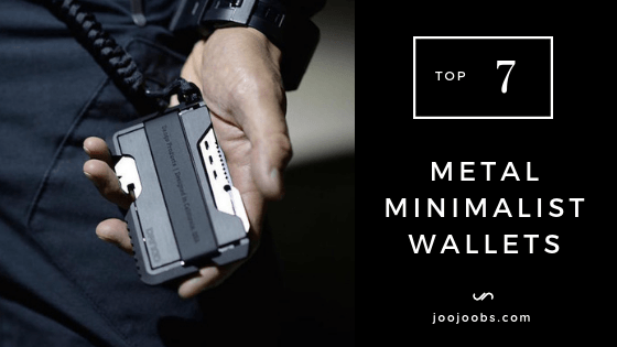 Top 7 Metal Minimalist Wallets