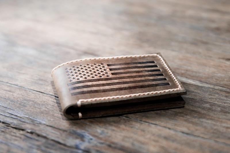 American Flag Bifold Wallet 4