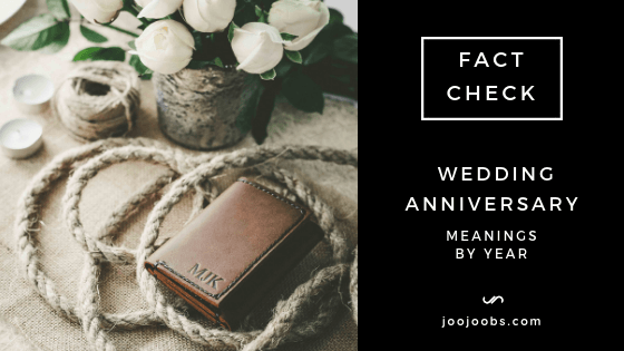 Wedding Anniversary Meanings By Year Read Before You Shop For A